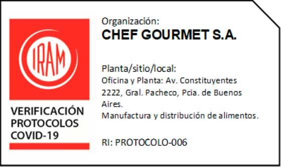 Seguridad alimentaria - Protocolo Covid 19